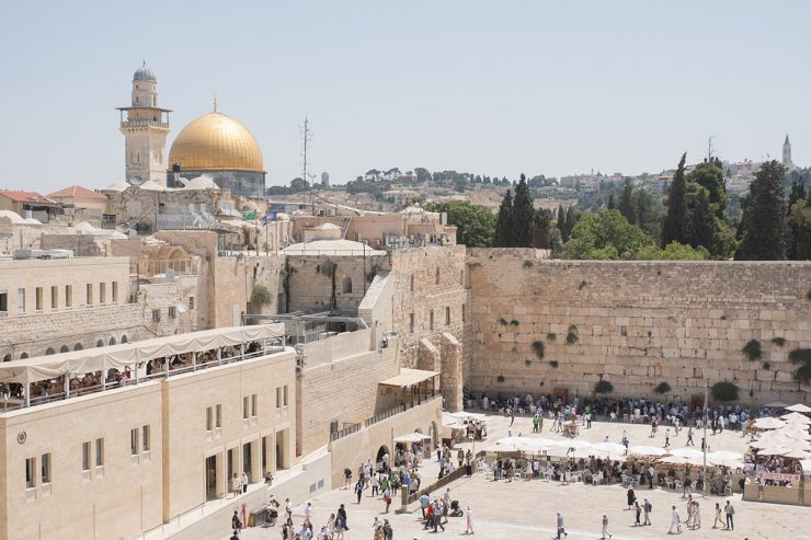 pope asks for peace in the holy land